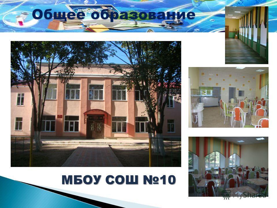 МБОУ СОШ10 Капитальный ремонт фасада здания, спортивного зала и столовой МБОУ СОШ 10