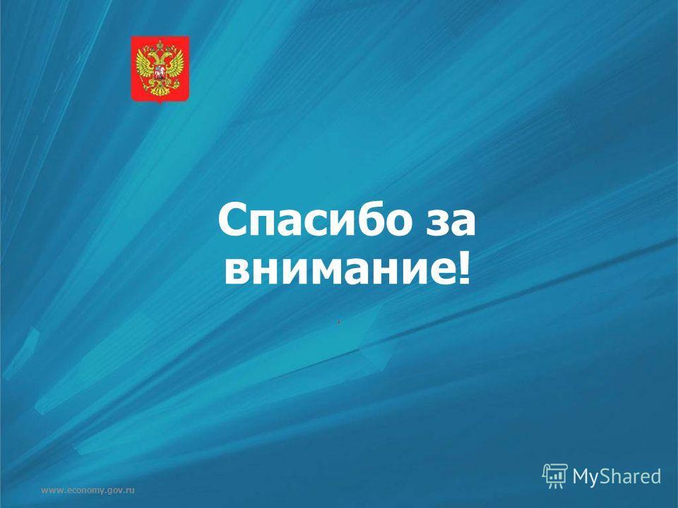 www.economy.gov.ru Спасибо за внимание!