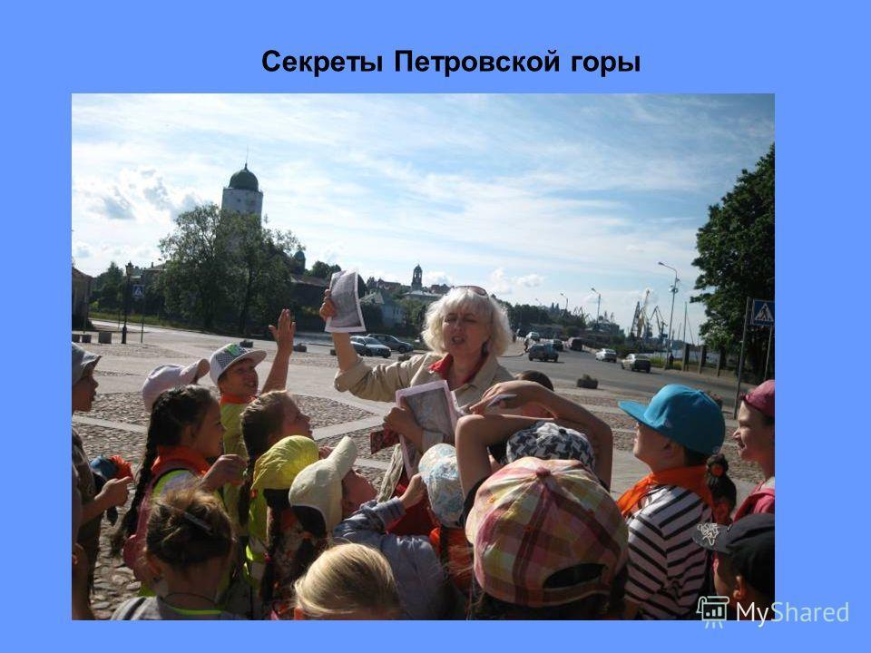 Секреты Петровской горы