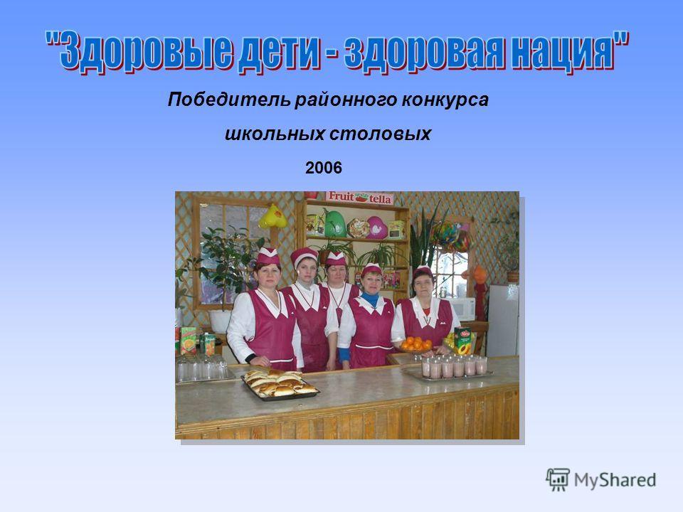 Победитель районного конкурса школьных столовых 2006