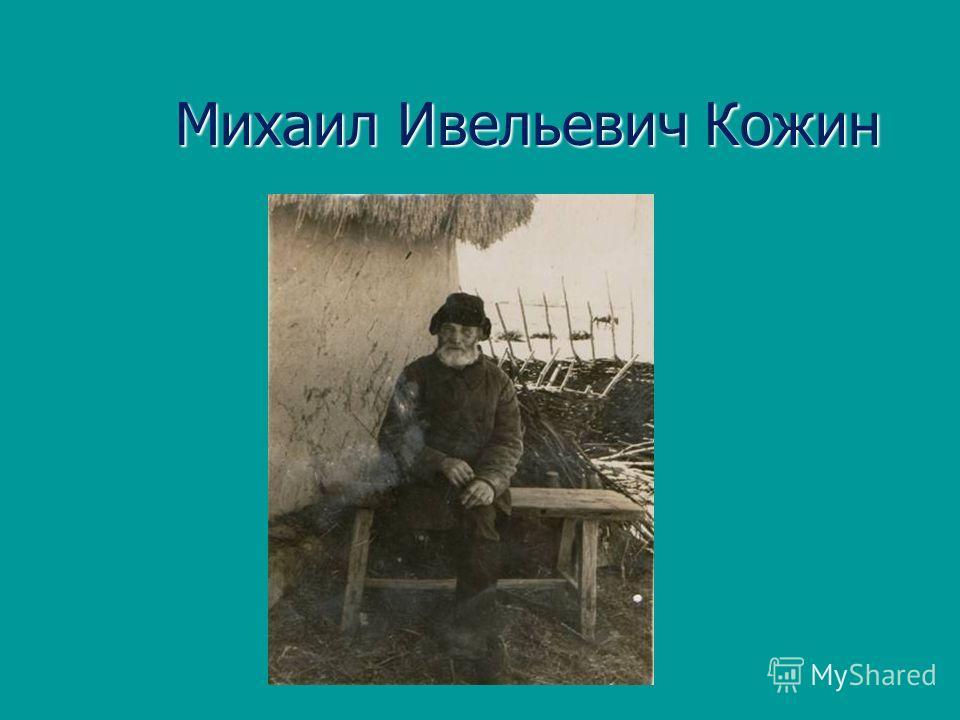 Михаил Ивельевич Кожин