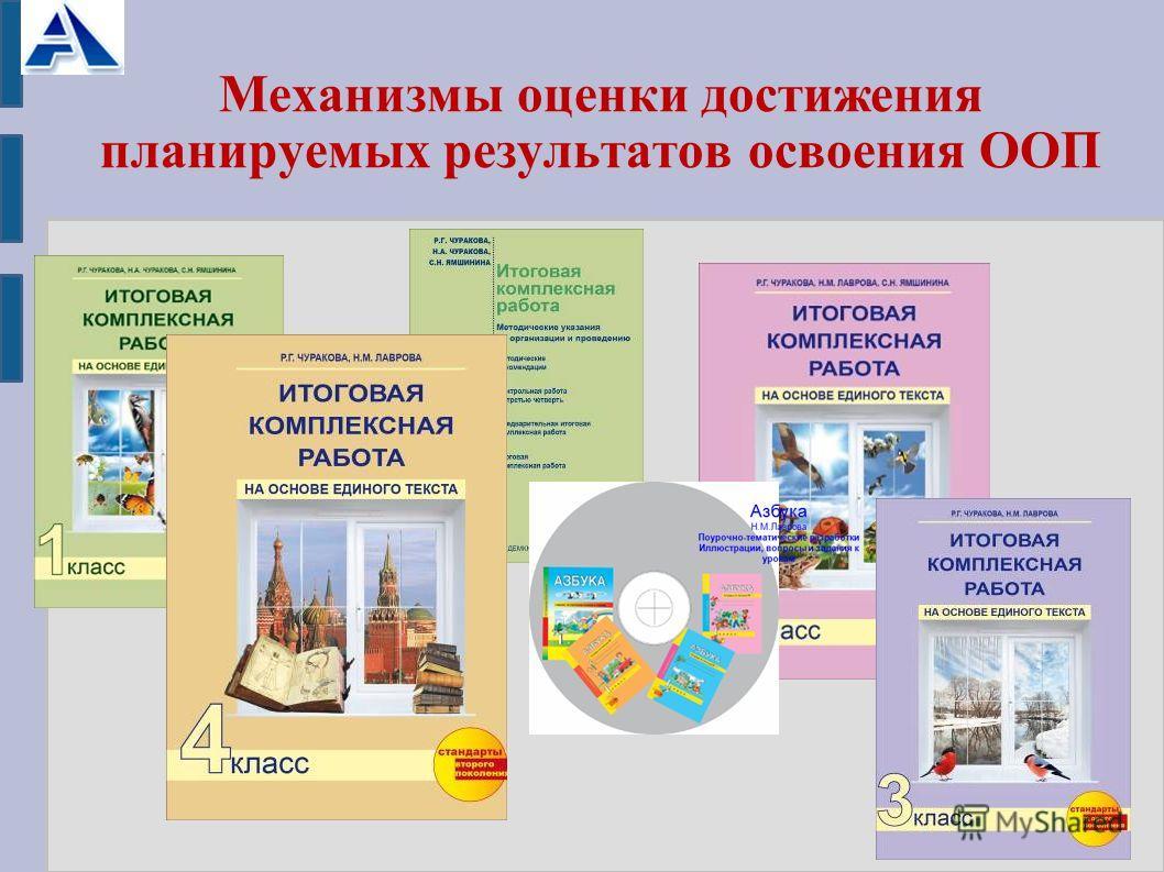 Механизмы оценки достижения планируемых результатов освоения ООП