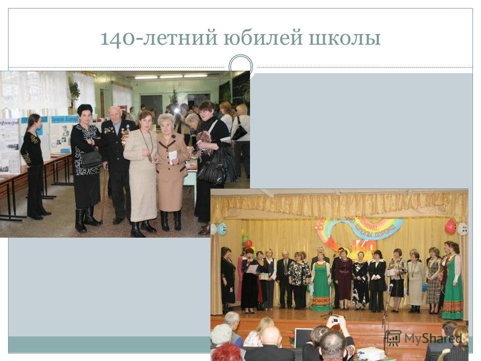 140-летний юбилей школы