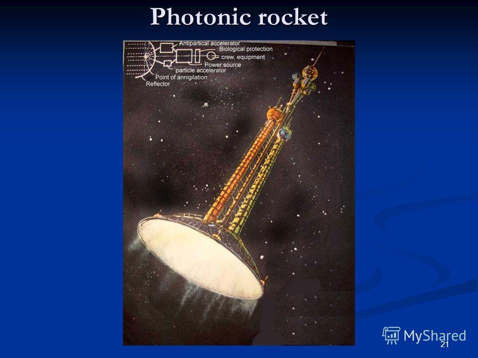 21 Photonic rocket