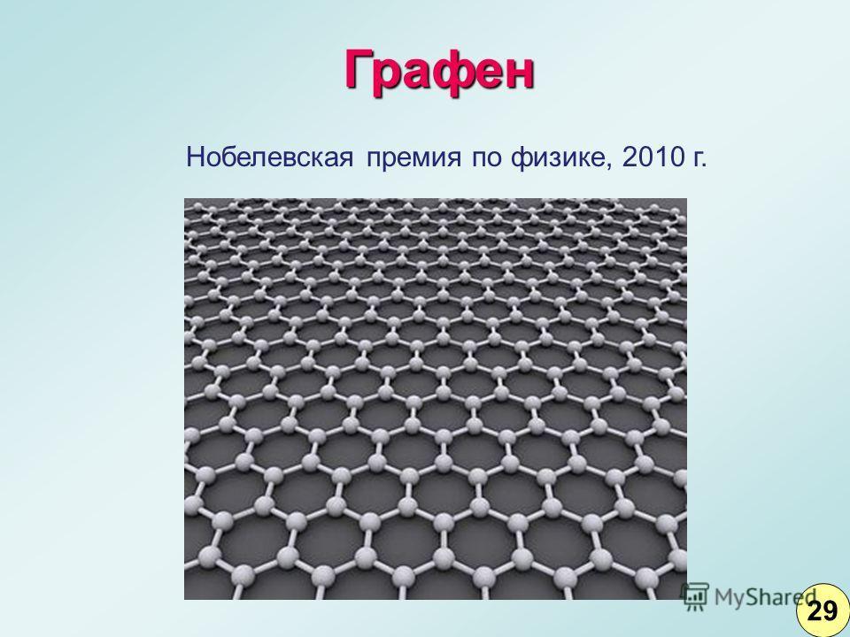 Нобелевская премия по физике, 2010 г. Графен 2929