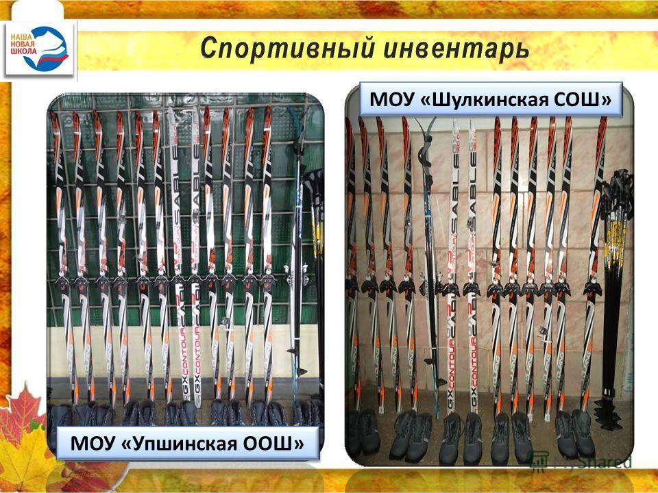 МОУ «Упшинская ООШ» МОУ «Шулкинская СОШ»