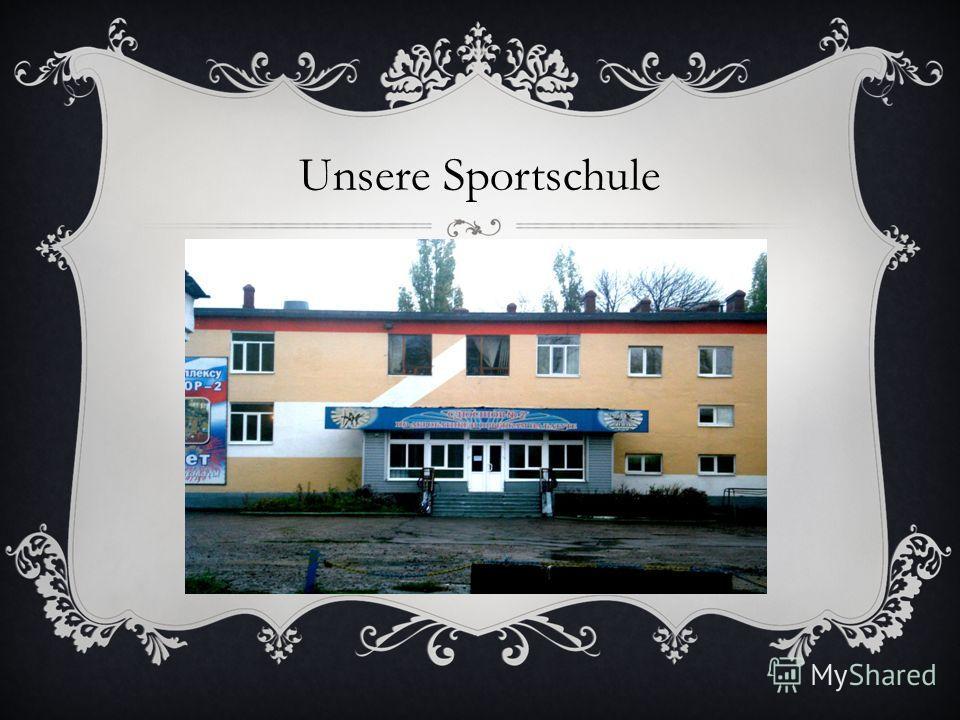 Unsere Sportschule