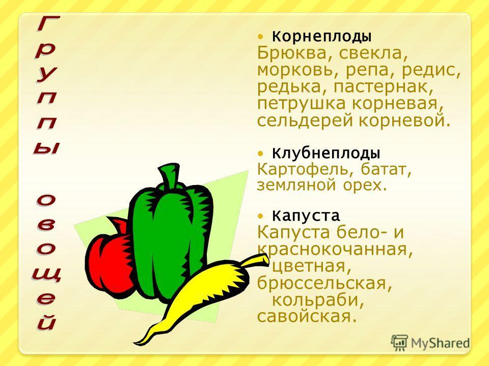 Овощи. Витамины А Витамины С Витамины В