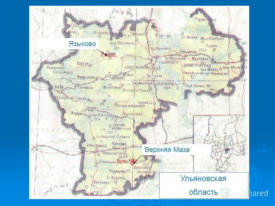 Верхняя Маза Языково Ульяновская область