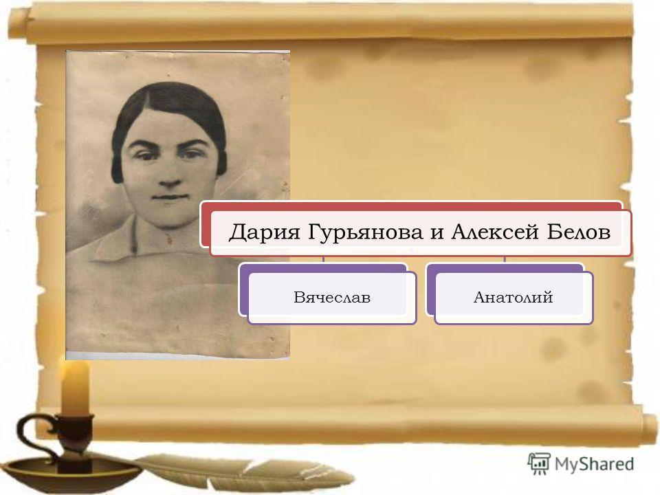 Дария Гурьянова и Алексей Белов ВячеславАнатолий