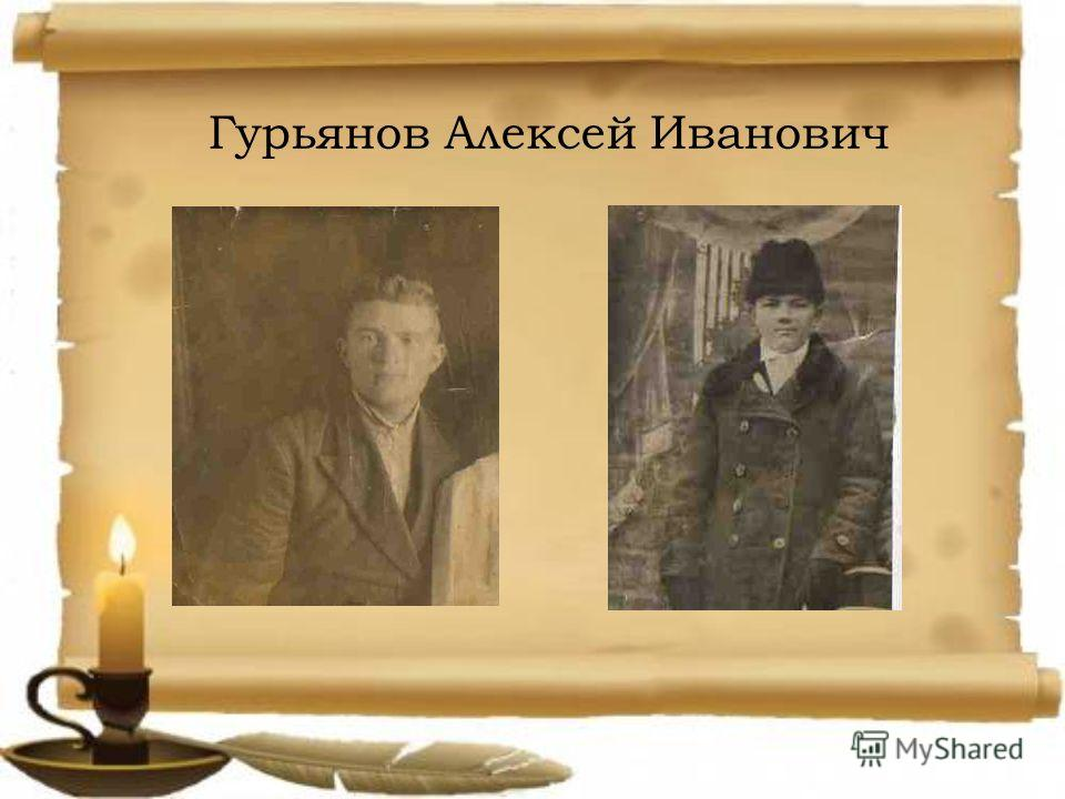 Гурьянов Алексей Иванович