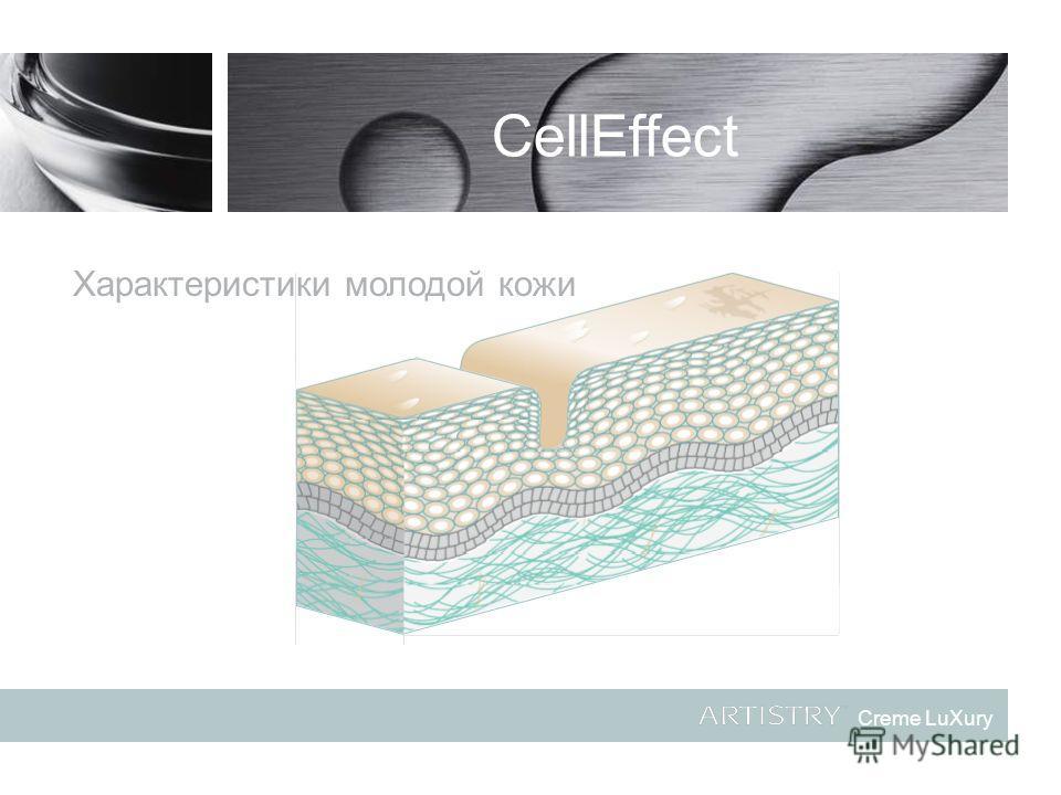 Creme LuXury CellEffect Характеристики молодой кожи