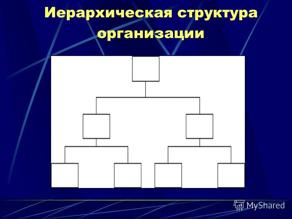 Иерархическая структура организации