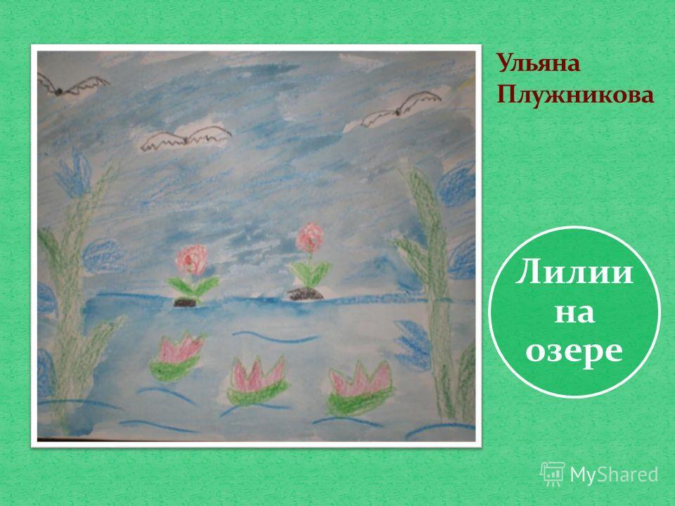 Лилии на озере