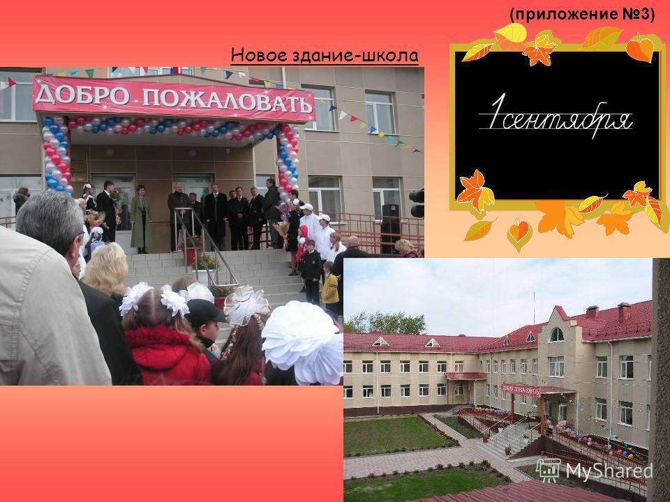 (приложение 3) Новое здание-школа