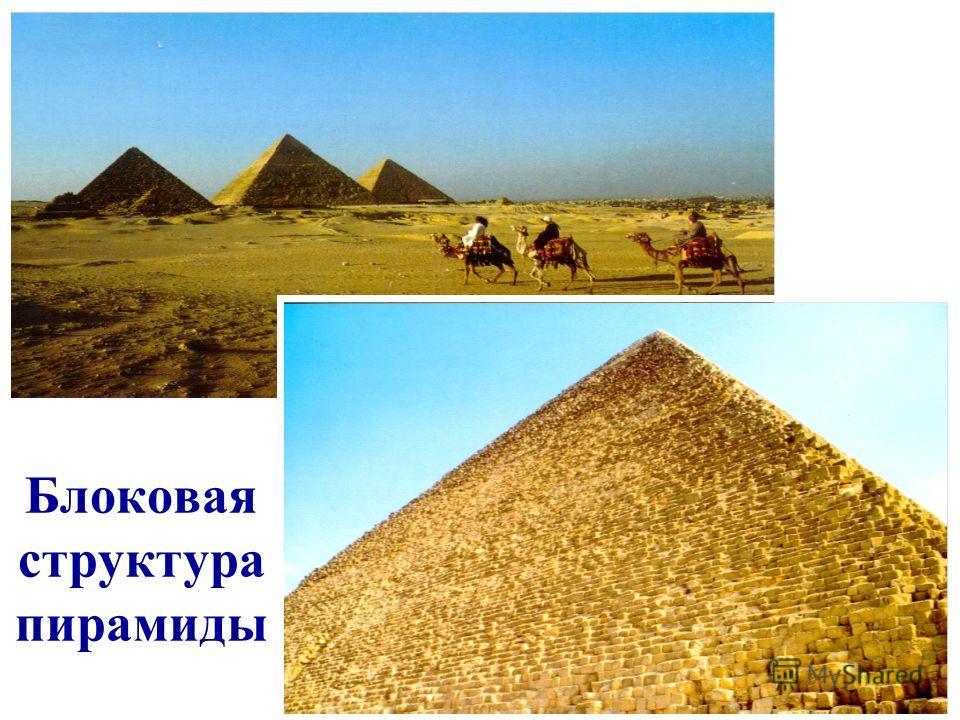 Блоковая структура пирамиды