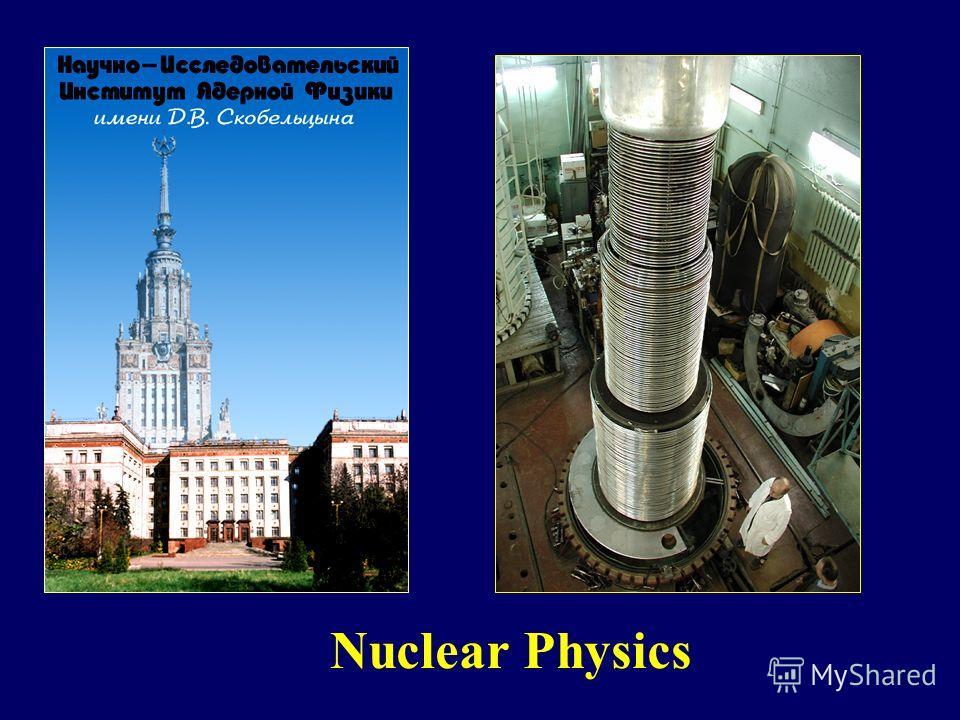 Nuclear Physics