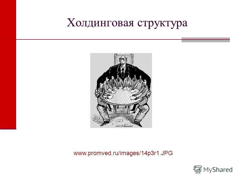 Холдинговая структура www.promved.ru/images/14p3r1.JPG