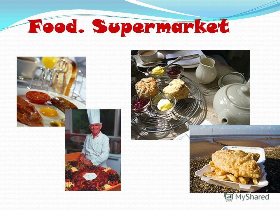 Food. Supermarket