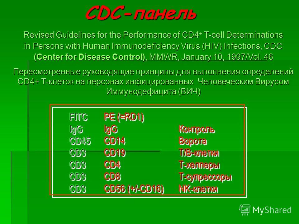 FITCIgGCD45CD3CD3CD3CD3FITCIgGCD45CD3CD3CD3CD3 PE (=RD1) IgGКонтроль CD14Ворота CD19T/B-клетки CD4T-хелперы CD8T-супрессоры CD56 (+/-CD16)NK-клетки PE (=RD1) IgGКонтроль CD14Ворота CD19T/B-клетки CD4T-хелперы CD8T-супрессоры CD56 (+/-CD16)NK-клетки C