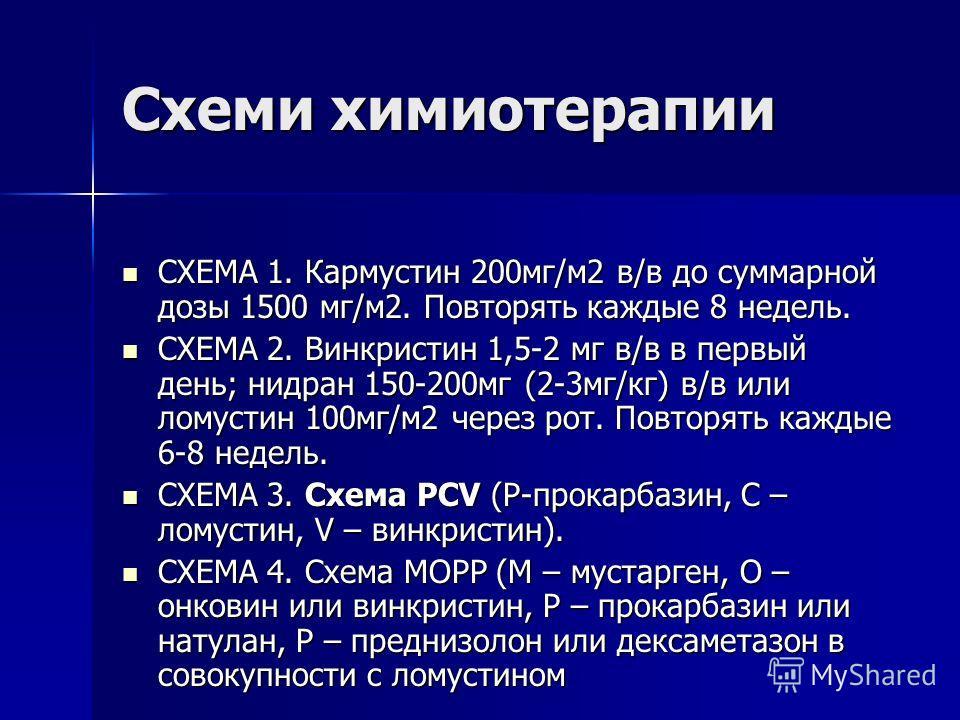 Кармустин Инструкция По Применению - фото 8