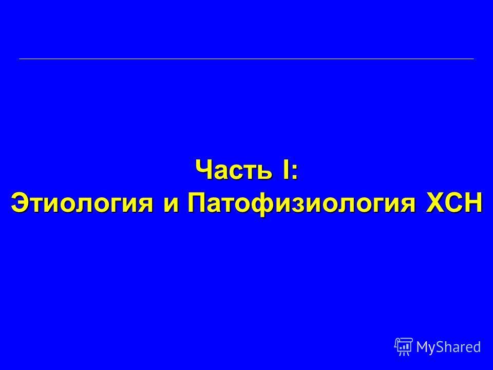 Часть I: Этиология и Патофизиология ХСН