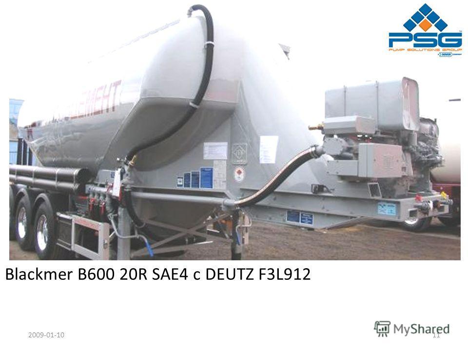 2009-01-1011 Blackmer B600 20R SAE4 с DEUTZ F3L912