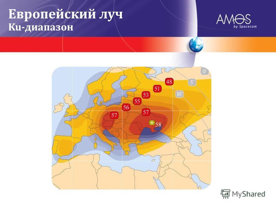 Европейский луч Ku-диапазон