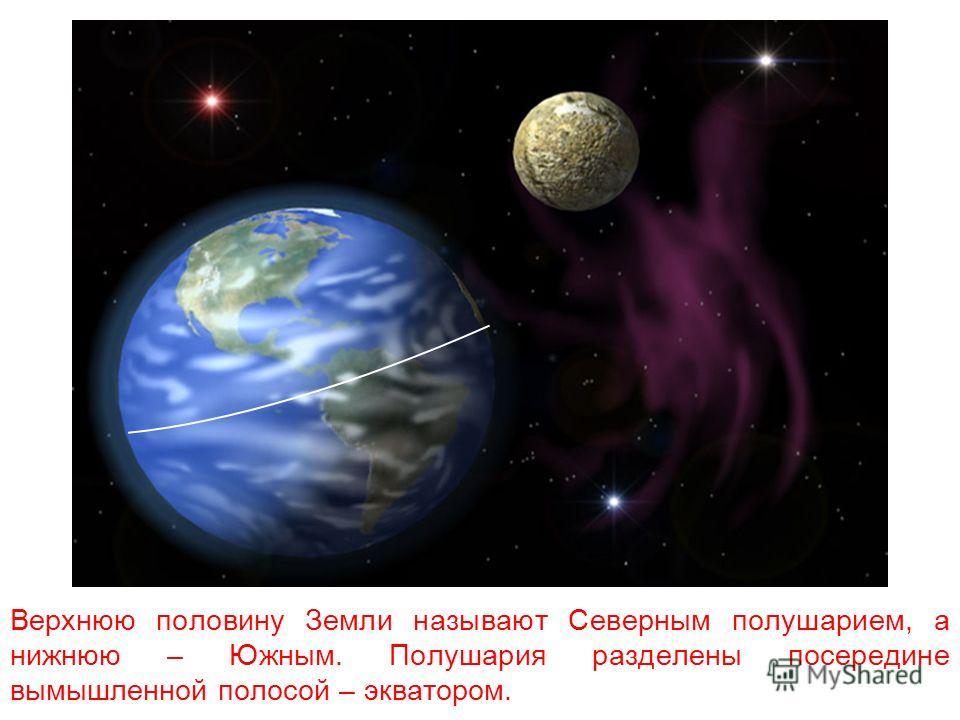 Ось – это воображаемая линия, которая проходит от Северного полюса к Южному через центр Земли.