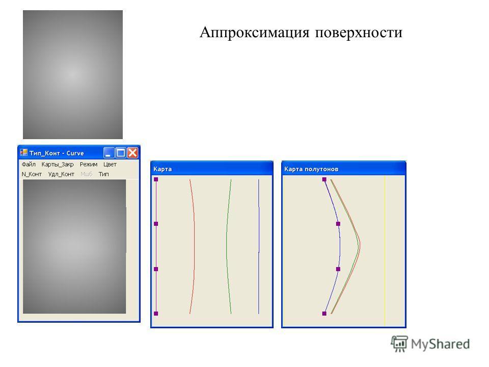 Аппроксимация поверхности