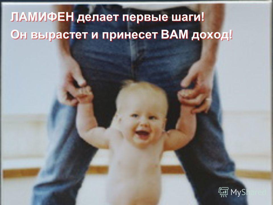 ЛАМИФЕН делает первые шаги! Он вырастет и принесет ВАМ доход! ЛАМИФЕН делает первые шаги! Он вырастет и принесет ВАМ доход!