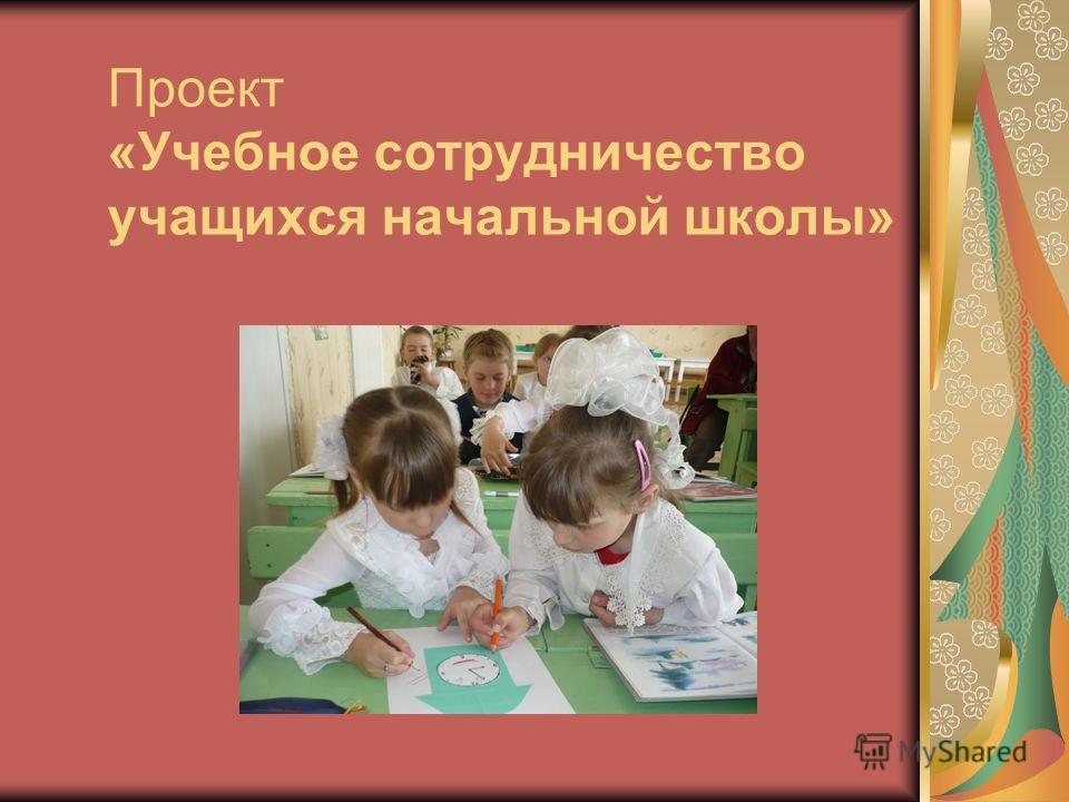 Проект «Учебное сотрудничество учащихся начальной школы»