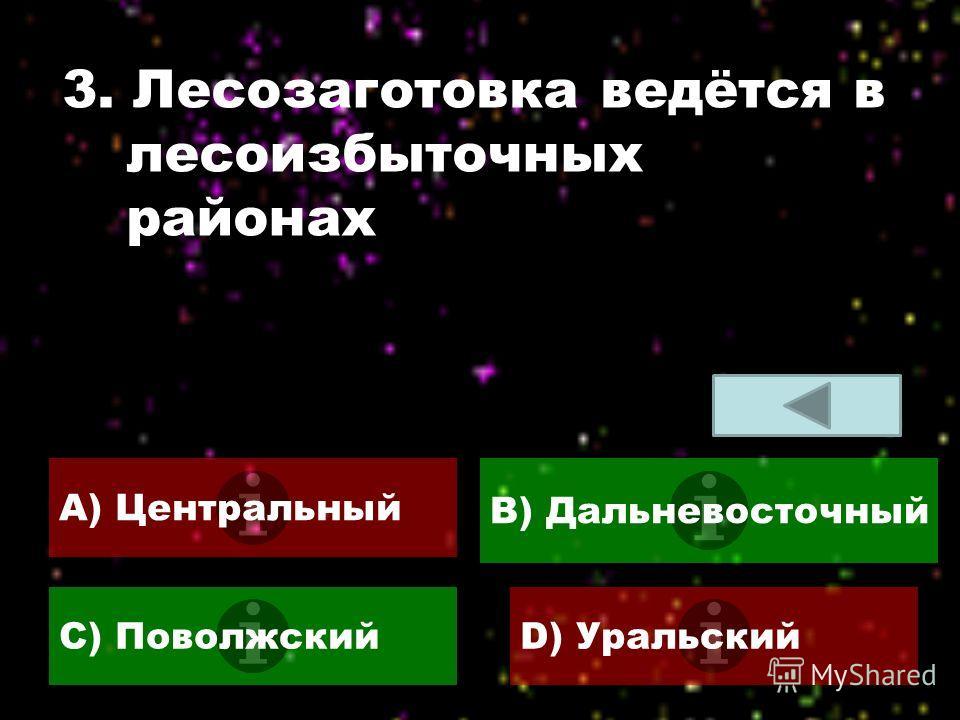 2. Крупнейший завод по производству калийных удобрений A) АпатитыB) Уфа C) СоликамскD) Омск