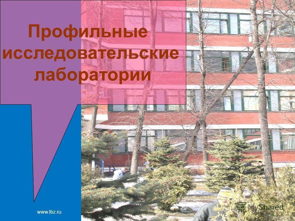 www.lbz.ru Москва, 2007 год Профильные исследовательские лаборатории