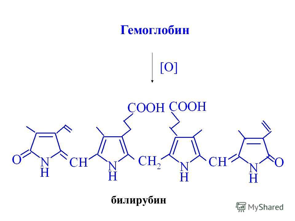 Гемоглобин [O] билирубин