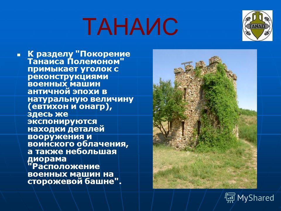 ТАНАИС К разделу