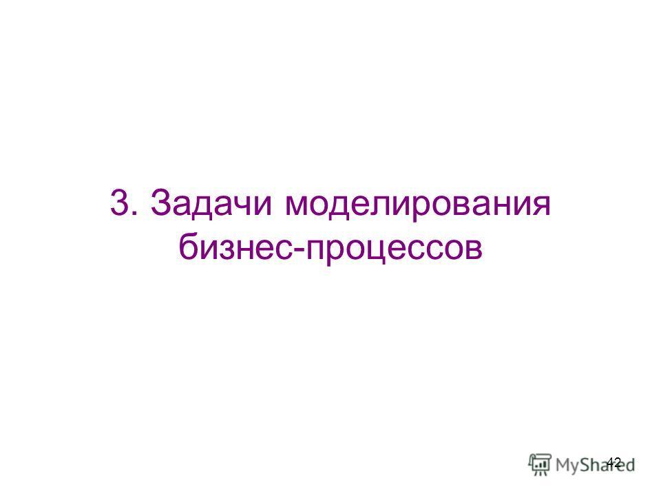 42 3. Задачи моделирования бизнес-процессов