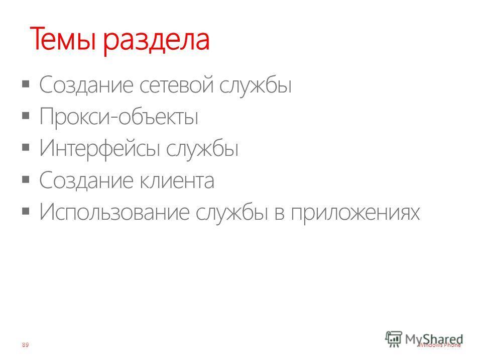 Windows Phone Темы раздела 89