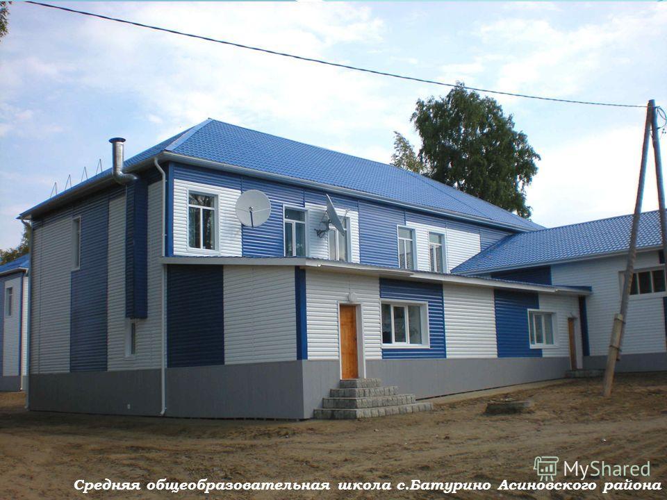 8 Средняя общеобразовательная школа с.Батурино Асиновского района