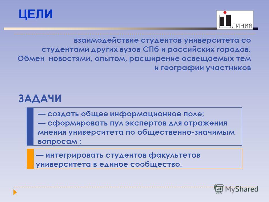ИНФОРМАЦИОННО-ОБРАЗОВАТЕЛЬНЫЙ ПОРТАЛ «ПЕРВАЯ ЛИНИЯ» http://1-line.spbu.ru http://1-line.spbu.ru Номер в реестре зарегистрированных СМИ - Эл ФС 77 - 20413 Эл ФС 77 - 20413