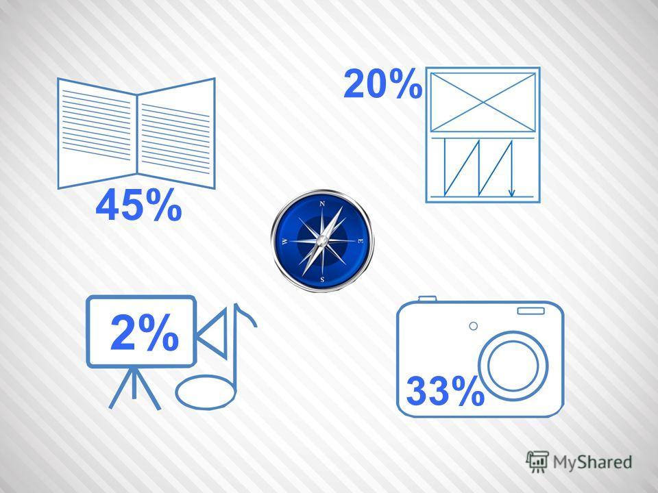 45% 20% 2% 33%