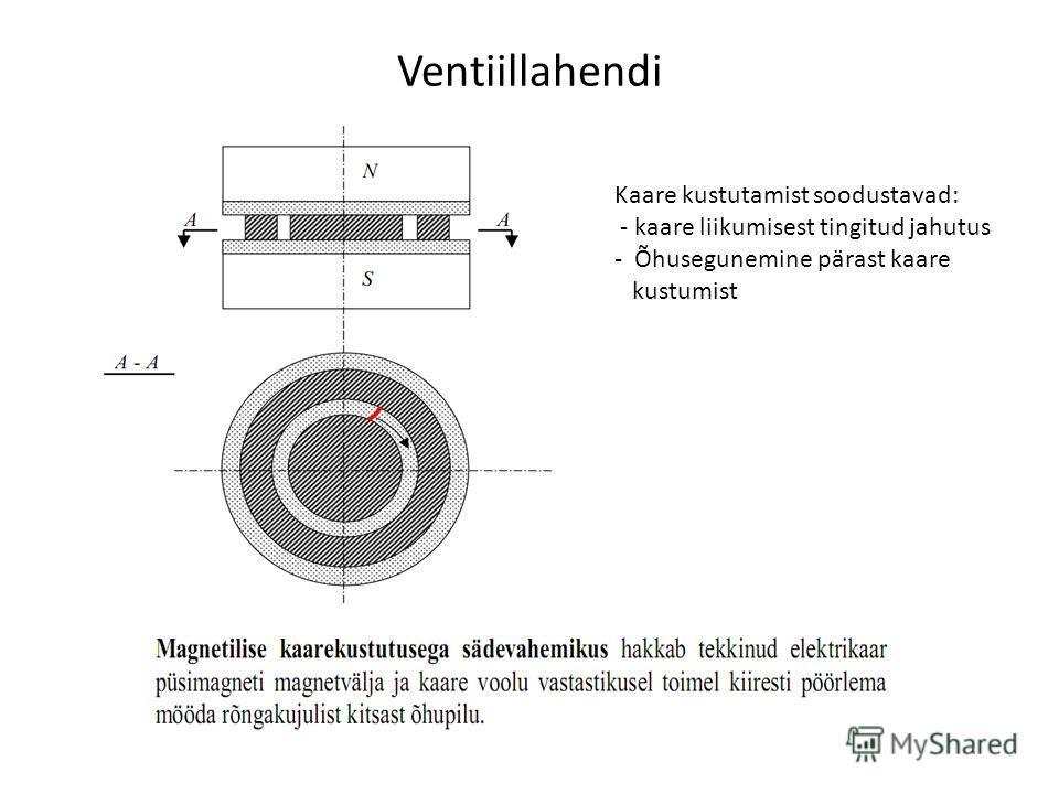 Kaare kustutamist soodustavad: - kaare liikumisest tingitud jahutus - Õhusegunemine pärast kaare kustumist