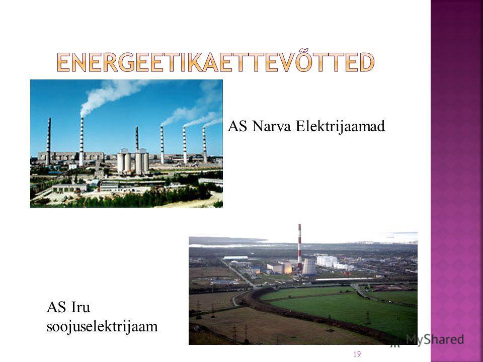 AS Narva Elektrijaamad AS Iru soojuselektrijaam 19