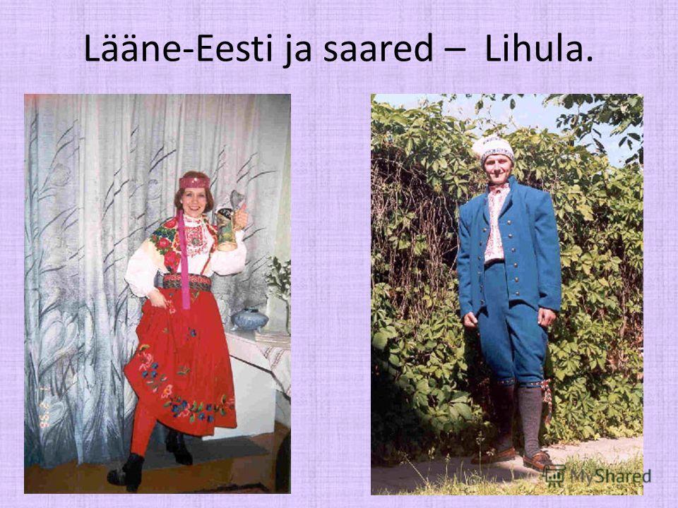 Lääne-Eesti ja saared – Lihula.