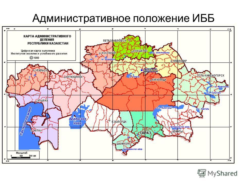 Административное положение ИББ