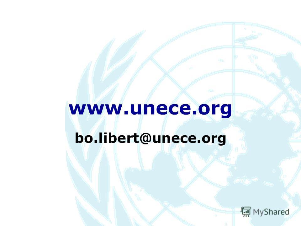 www.unece.org bo.libert@unece.org