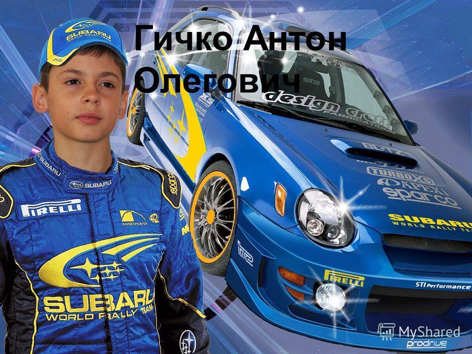 Гичко Антон Олегович
