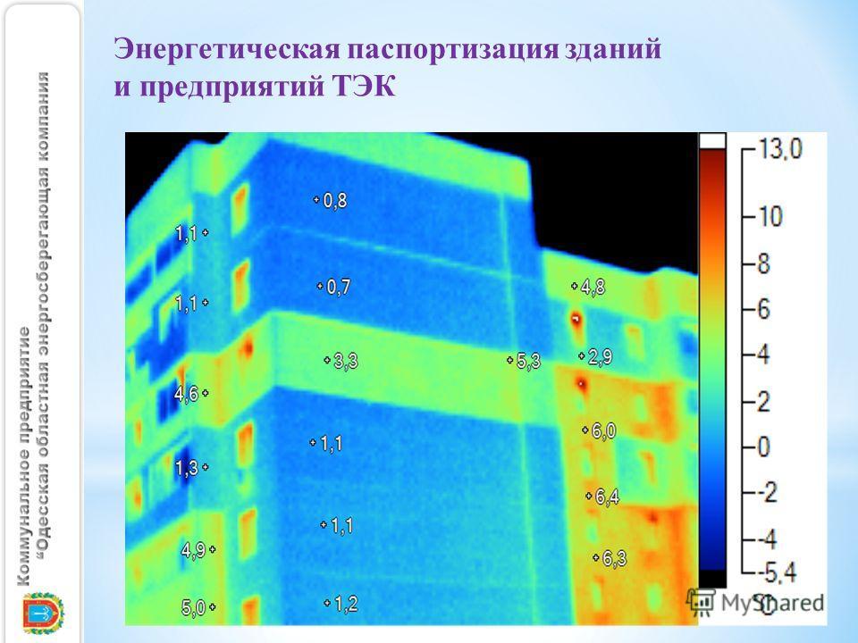 Энергетическая паспортизация зданий и предприятий ТЭК