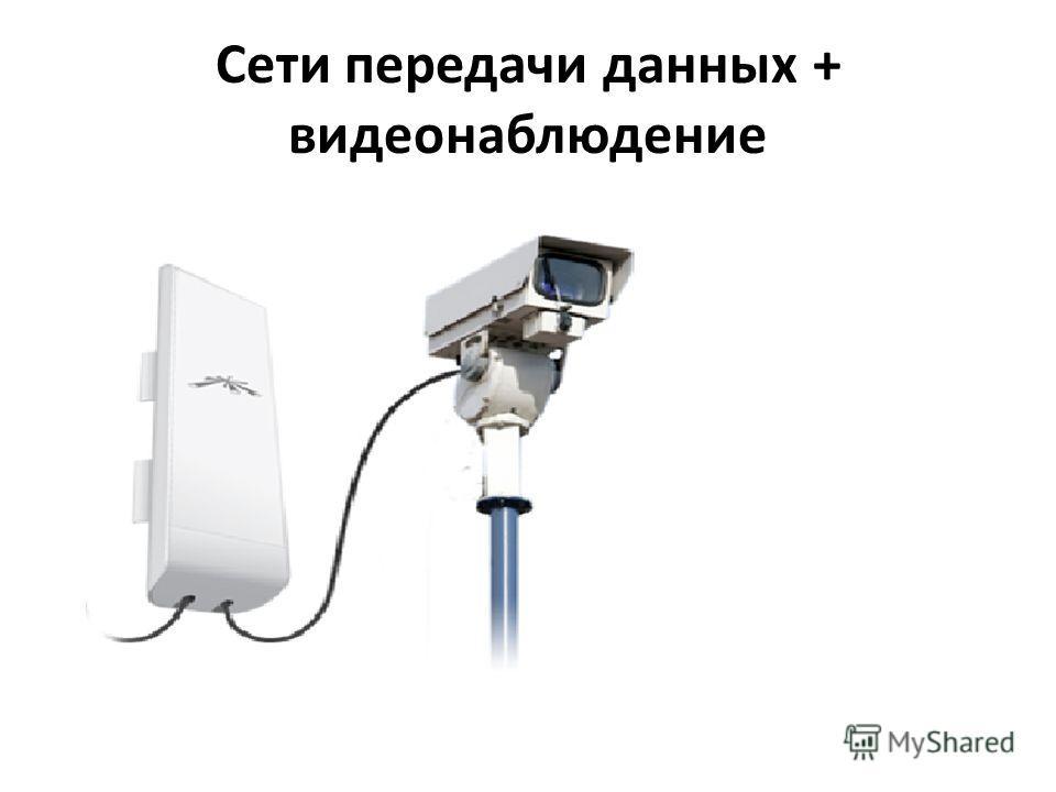 Сети передачи данных + видеонаблюдение
