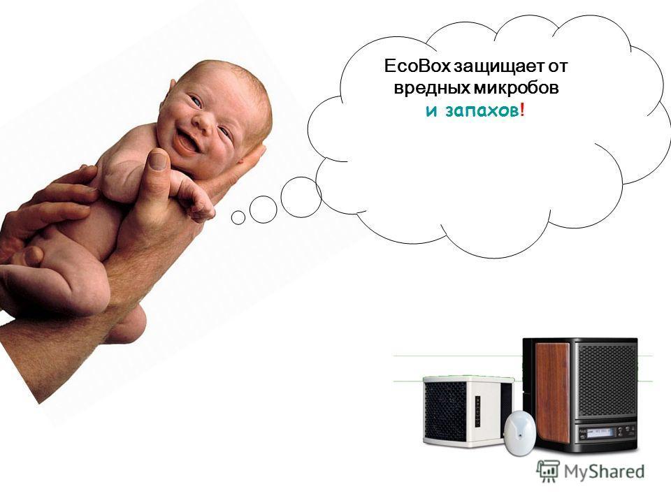 EcoBox защищает от вредных микробов и запахов !